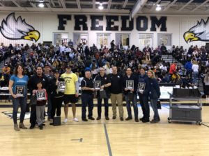 Freedom sponsor night -